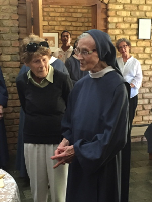 Sr Clare with her sister
