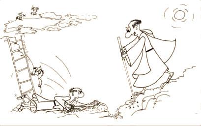 Monk fall