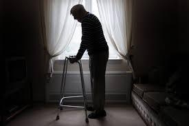 An elderly