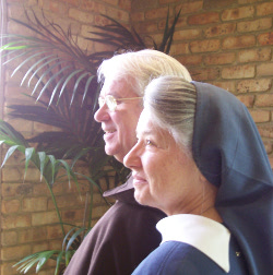 Sr Magdalen and Fr Paul