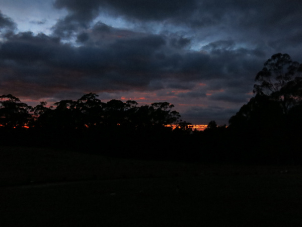 Sunrise at the Abbey
